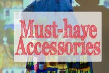 Artistic Accessories / The cutest collection of accessories for women from hand painted purses to scarves and jewelry. Ideas of how to incorporate cute handbags and purses & create a coordinated look.