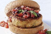 Food - Veggie Burgers / by Beth D
