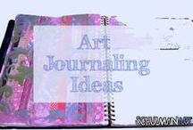 art journal inspiration / Art Journal Ideas | art journal pages | art journal prompts | art journal techniques | art journal inspiration