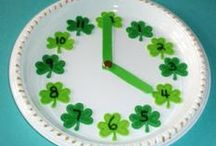 St. Patrick's Day / Leprechauns, rainbows and shamrocks! St. Patrick's Day is a great way to celebrate the coming of spring with crafts for kids and fun activities.