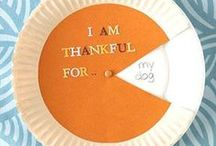 Thanksgiving Day Crafts / It's time to celebrate Thanksgiving with these cute and easy crafts for kids.