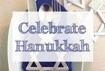 Happy Hanukkah / Hanukkah | Chanukkah | happy hanukkah | hanukkah recipes | hanukkah decorations | hanukkah gifts | hanukkah crafts | hanukkah food