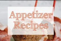 Appetizer Recipes / appetizers | appetizer | easy appetizers | party appetizers | appetizers for parties | appetizers for a crowd | hors d'oeuvres | great appetizers | appetizer recipes | recipes for appetizers