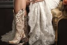Western Wedding Inspiration / Wrangle up some romance at your western themed wedding.