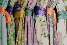 Bridesmaid Style. / Time to forget the matching gowns! Think mixing prints, texture, colors, etc.