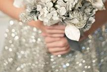Diamond Wedding Theme / A diamond wedding theme can be a glitz and glamour-loving girl's best friend.