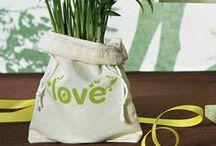 Eco-Friendly Wedding Favors / Thoughtful little take-home gifts that are kind to the Earth.