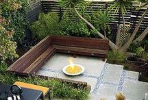 Urban Garden // Backyard / by sarahsthreads