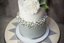 Gray Weddings / Inspiration and ideas for implementing a gray wedding color palette.