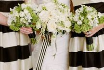 Black and White Weddings / Black and White weddings are so versatile and can range from classic and elegant to modern and whimsical.  This crisp color combination is timeless and if a pop of color is added, it takes on a whole new life.
