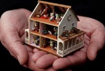 I ♡ dollhouses! / Doll houses, Barbie houses, miniatures