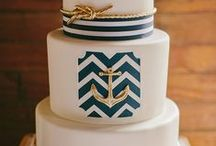 Nautical Wedding Ideas / For weddings that will take place near the water, these nautical wedding ideas will provide the inspiration for quite the event.  WIth anchors, rope, boats and other nautical gems as the focal point, they're the perfect start for setting sail on your new life together.