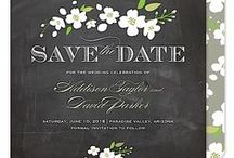 Save The Dates - Wedding / Wedding Save the Dates provide several benefits including ensuring a great turnout for your big day when guests put you on their calendars.  Out of town guests will appreciate the advance notice. Saves the Dates are also the perfect place to share your engagement photos.