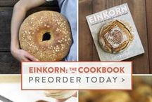 Einkorn: The Cookbook / The Cookbook is finally here! Learn all of Carla's helpful tips for using einkorn to its full baking potential in 100 recipes for exceptional breads, cookies, cakes and savory dishes.