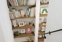 造作本棚・書庫・ライブラリー / 造作本棚・書庫・ライブラリーの建築・インテリア実例 by ジャストの家