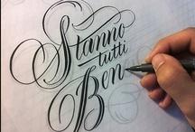 Calligraphy / by Pat Yabut