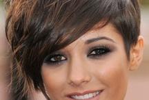 Brunasse / idées coiffures pour les brunes