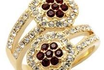 Red Fashion Jewelry / www.eternalsparkles.com / by Eternal Sparkles