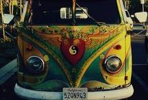 Hippie vehicles