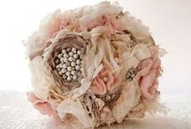 My Wedding Bouquet DIY / This is the starting point into the project of sewing my wedding bouquet. It is a handsome, unique and friend/family welcoming idea.
