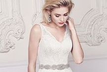 Lace Dresses | Mikaella Bridal / In love with lace? This board is perfect for you! From full lace gowns to lace detail, Re-embroidered, Guipure, Leavers, and our very own Mikaella Lace are all featured on these wedding dresses.  / by Mikaella Bridal