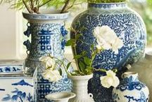 Chinoiserie Chic / Delicate details, fantastical flourishes. A 17th century fusion of Asian decorative elements, Chinoiserie never seems to go out of style.