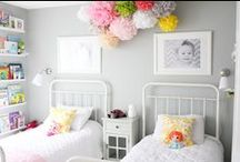 Home - Girl Bedroom / by Candace Hales