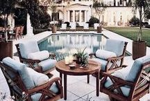 II Home / outside II / Outdoor spaces decorating inspiration.