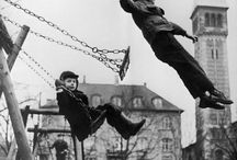 fly / Swinging and flying. Childhood, freedom and remembering to let go.