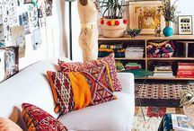 Bohemian Love / Inspiration for new living room