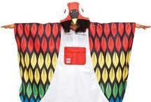 Kigu Kigoule / The Kigoule is a brand new poncho-style animal raincoat, perfect for festivals and cycling. Made from water resistant materials, these quirky animal Kigoules include a Parrot, Hippo, Duck and many more!