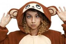 Kigu Wild & Wonderful / Consider yourself a bit of a wild one? Relax in a wild and wonderful Kigu animal onesie or wear as an awesome fancy dress costume! Whichever animal is your favourite we've got a Kigu for you, from Lions to Red Pandas and Penguins!