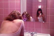 Bathroom Break / A bunch of girls in bathrooms. Isn't it obvious?