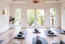 Yoga Studio / Yoga studio & space inspiration