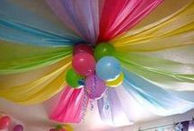 Party & Holiday Inspiration / Creative ideas for themes and decorations.