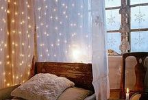 Bedroom Ideas / Trying to Pin together my new bedroom (pun intended) :)