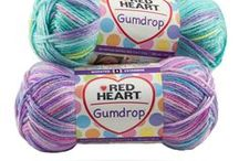 Red Heart Fashion Yarns / Red Heart is one of the most widely-recognized brands among yarn users, and we're proud of the fact that many of our yarns are made right here in the USA. Take a few minutes to explore the various fashion yarns we make—we just know that at least one of them is among your favorites.  / by Red Heart Yarns