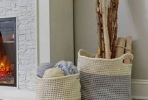 Decorate your space! / When it comes to your home we know how important selecting the right decor can be. These knit and crochet patterns are all you will need to completing the look of your home.