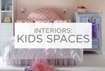 Interiors: Kids Spaces / What better place to have fun with color than your kid's bedroom? Get inspired and have fun! / by Valspar