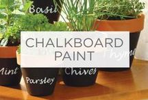 Chalkboard Paint / All things chalk board – in every place you can imagine, and a few that you can't. / by Valspar