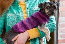 Stylin' Pets / Dress up your pet in his best for Halloween costume parties – or just for fun! / by Red Heart Yarns