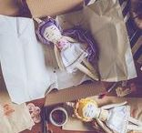 Mandarinas de Tela / Mandarinas de Tela, handmade cloth dolls