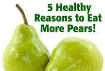 That's it Fruit - Pears / Pears are mildly sweet and super juicy! They make an excellent source of fiber. http://www.thatsitfruit.com / by That's it.