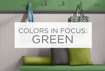 Colors in Focus: Green / Natural. Fresh. Ambitious. / by Valspar