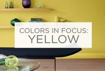 Colors in Focus: Yellow / Sunshine. Joy. Energy. / by Valspar