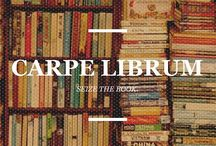Carpe Librum / I love books. I love to read, to get pulled into a good plot, to laugh, cry and cheer w/ the characters. Books are my escape when it's too expensive to go anywhere. My Christmas list IS my book list. / by Amber Freerksen