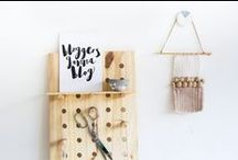 MAKE IT / DIY, crafts and projects. Things I'd like to make.