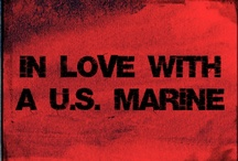 In Love With A U.S. Marine / by Amber Freerksen