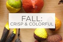 Fall: Crisp and Colorful / Rich purples, rusty oranges, reds and browns. Bring the colors of the season into your home. / by Valspar