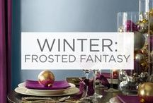Winter: Frosted Fantasy / Bring the cool hues of the winter months into your home.  / by Valspar